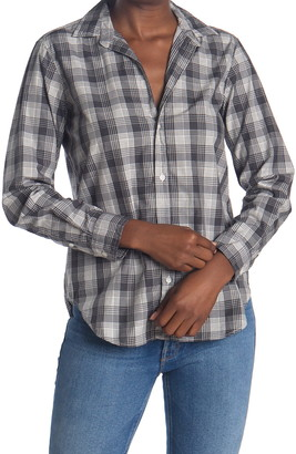 Frank And Eileen Frank Plaid Tailored Fit Tunic Shirt