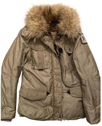 Parajumpers Beige Fur Coats