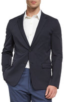 Theory Simons Neoteric Nylon-Blend Sport Coat, Navy