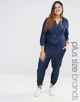 Junarose Chambray Jumpsuit