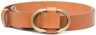 BA&SH Buckle-Fastening Leather Belt