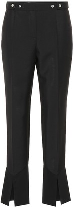 Givenchy Mohair and wool cropped pants