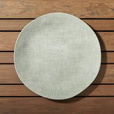 Crate & Barrel Porto Sage Green Dinner Plate