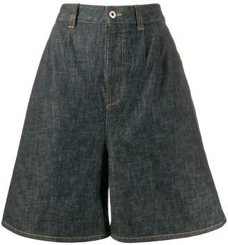 Loewe Short Flared Shorts