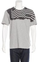 Golden Goose Deluxe Brand Flag Print T-Shirt w/ Tags