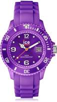 Ice Watch Ice-Watch Men's Sili SI.PE.B.S.09 Purple Silicone Quartz Watch with Purple Dial