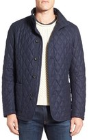 Sanyo Fashion House Quilted Wool Blend Jacket