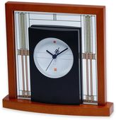 Bulova Willits Table Clock in Cherry