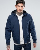 Fred Perry Brentham Mesh Lined Jacket In Navy