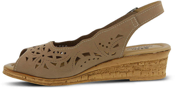 640b69eb0ae5e Spring Step Beige Slingback Strap Women s Sandals - ShopStyle