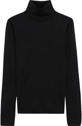 Iris & Ink Asha Silk And Cashmere-blend Turtleneck Sweater