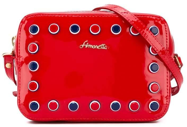 Simonetta studded shoulder bag