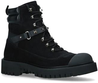 Valentino Rockstud Combat Boots
