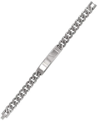 Sutton Stainless Steel Curb Link Chain Id Bracelet