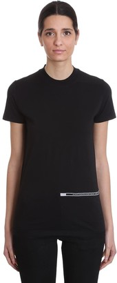 Drkshdw Ss Crew Level T-shirt In Black Cotton