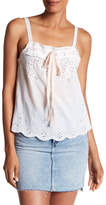Zadig & Voltaire Caramel Embroidered Tank