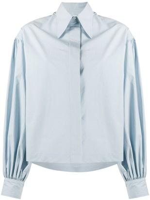 Deveaux Balloon Sleeve Shirt