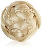 BiYa Hair Elements Bridal Bun Clip In Hair Extensions Style Daisy Updo, Bleach Blonde Number 60 by BiYa Hair Elements