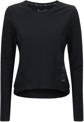 Under Armour Ua Run Anywhere Cropped T-shirt