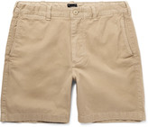 J.crew - Stanton Garment-dyed Cotton-twill Shorts