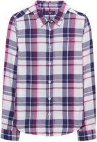 Gant Girls Flannel Checked Shirt 3-12 Yrs