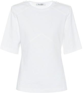 Max Mara Parole cotton jersey T-shirt