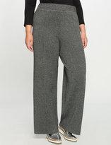 ELOQUII Plus Size Double Knit Wide Leg Pant