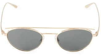 Oliver Peoples Hightree 49MM Round Sunglasses