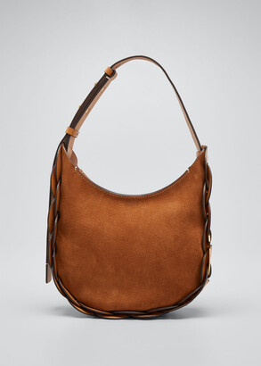 Chloé Darryl Small Suede Hobo Bag