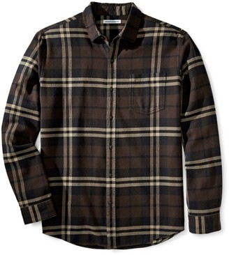 Amazon Essentials Regular-fit Long-Sleeve Flannel Shirt