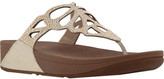 FitFlop Women's Bumble Wedge Thong Sandal