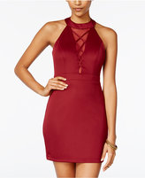 B. Darlin Juniors' Illusion Bodycon Dress