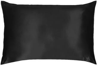 Slip Queen/Standard Pure Silk Pillowcase in Black | FWRD