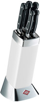 Wesco Classic Line Knife Block with Knives - White