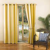 Sun Zero Sun ZeroTM Leeward Indoor/Outdoor Woven Stripe Grommet-Top Curtain Panel