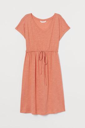H&M MAMA Cotton-blend dress
