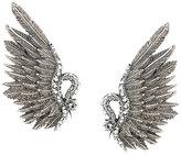 Lanvin swan earrings