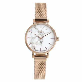 OWL Women's Analogue Japanese Quartz Watch with Stainless Steel Strap A10MRH