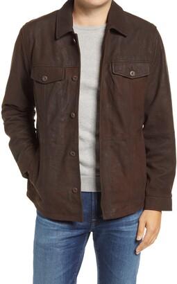 Tommy Bahama Laredo Ridge Leather Shirt Jacket