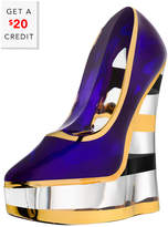 Kosta Boda Make Up Shoe With $20 Rue Credit
