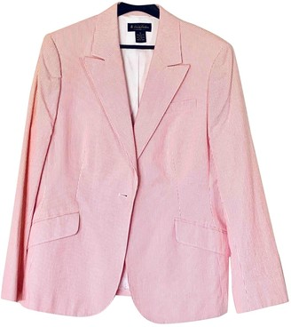 Brooks Brothers Pink Cotton Jacket for Women