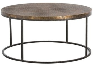 Arteriors Nixon Solid Wood Frame Coffee Table