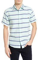 Sol Angeles Men's Grotto Stripe Woven Shirt