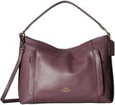 Coach Scout Hobo Shoulder Purse Handbag in Pebble Leather