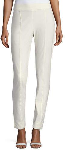 Eileen Fisher Petite Washable Crepe Slim-Leg Pants