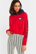 Tommy Jeans '90s Contrast Cropped Hoodie Sweatshirt