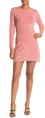 Angie Heather Knit Sweater Dress