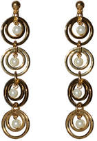 Lele Sadoughi Tiered Hoop Earrings