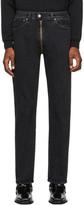 Vetements Black Crotch Zip Jeans