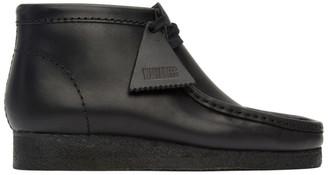 Clarks Black Wallabee Desert Boots